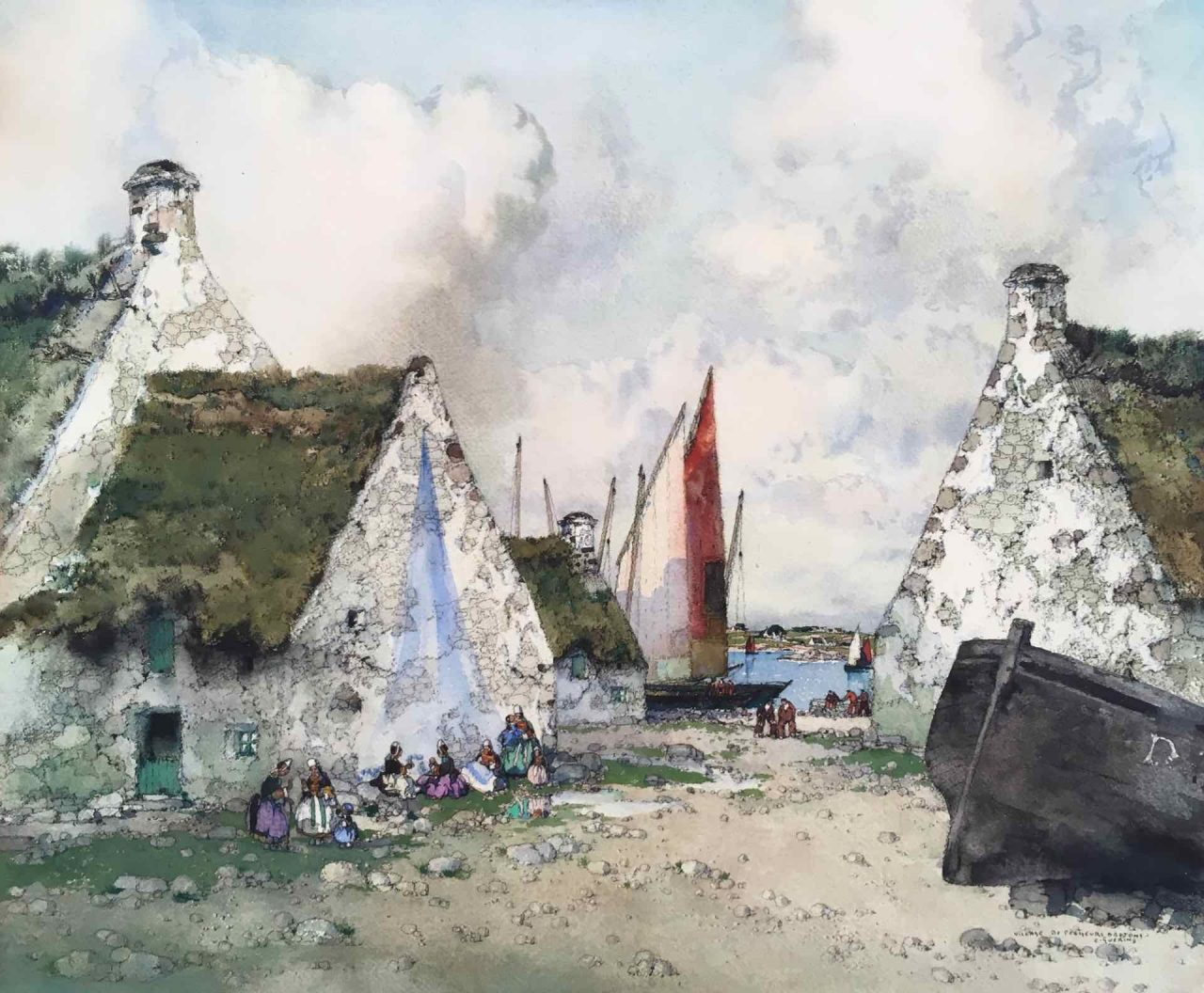 village de pêcheur Ernest Guerin