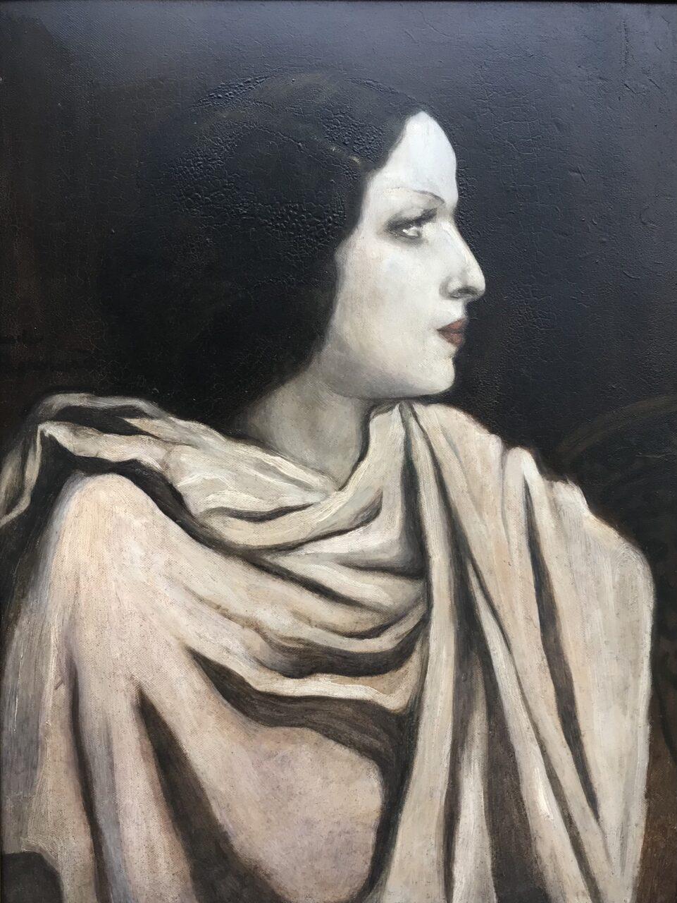 Portrait de femme - Emile Bernard