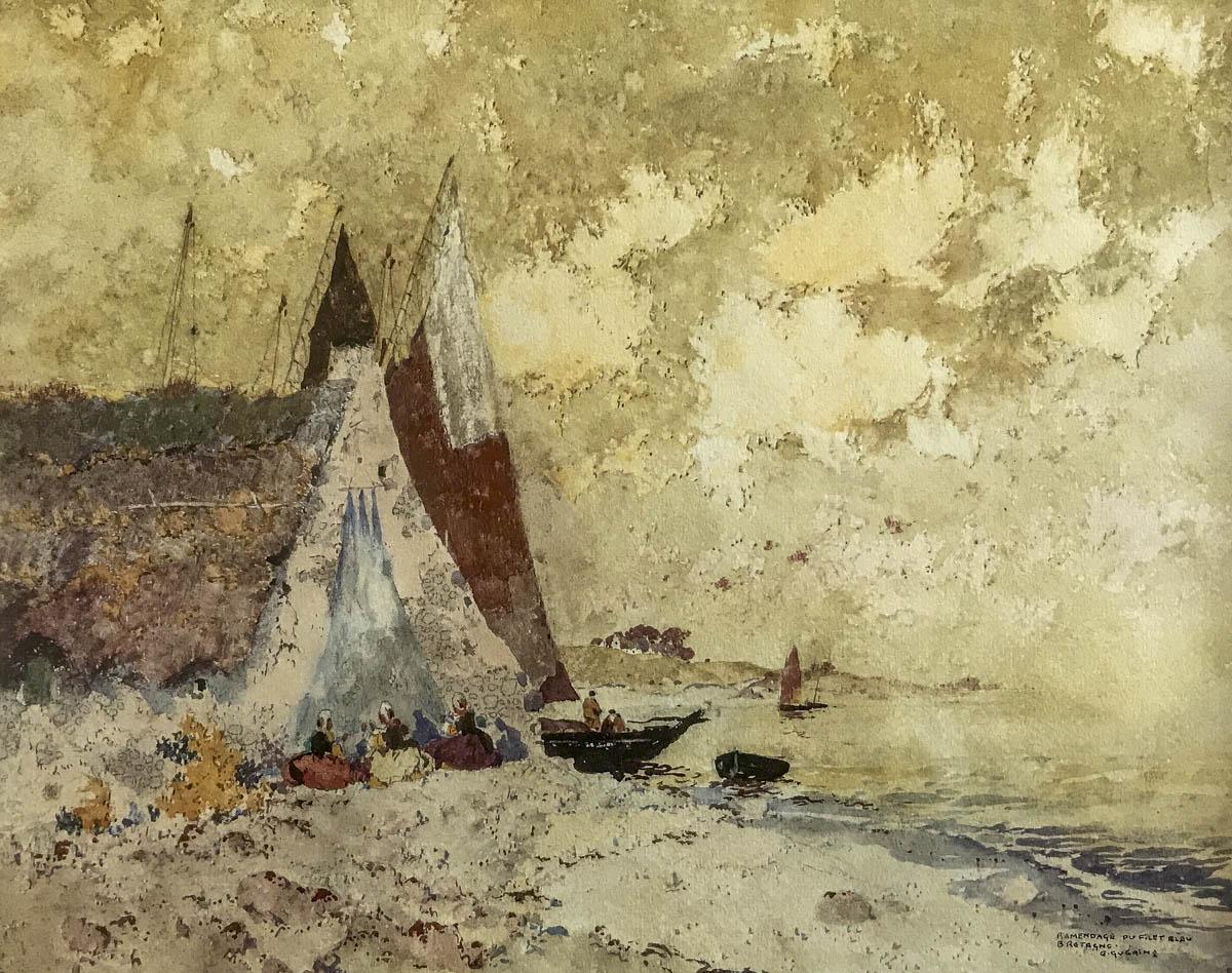 Ramendage Du Filet Bleu - Ernest Guerin