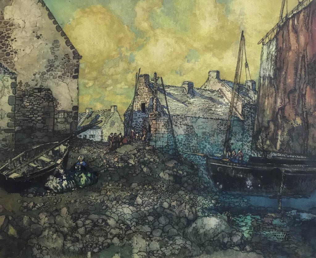 Saint Cado - Ernest Guerin
