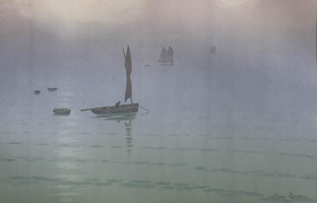 Brume En Mer 1915