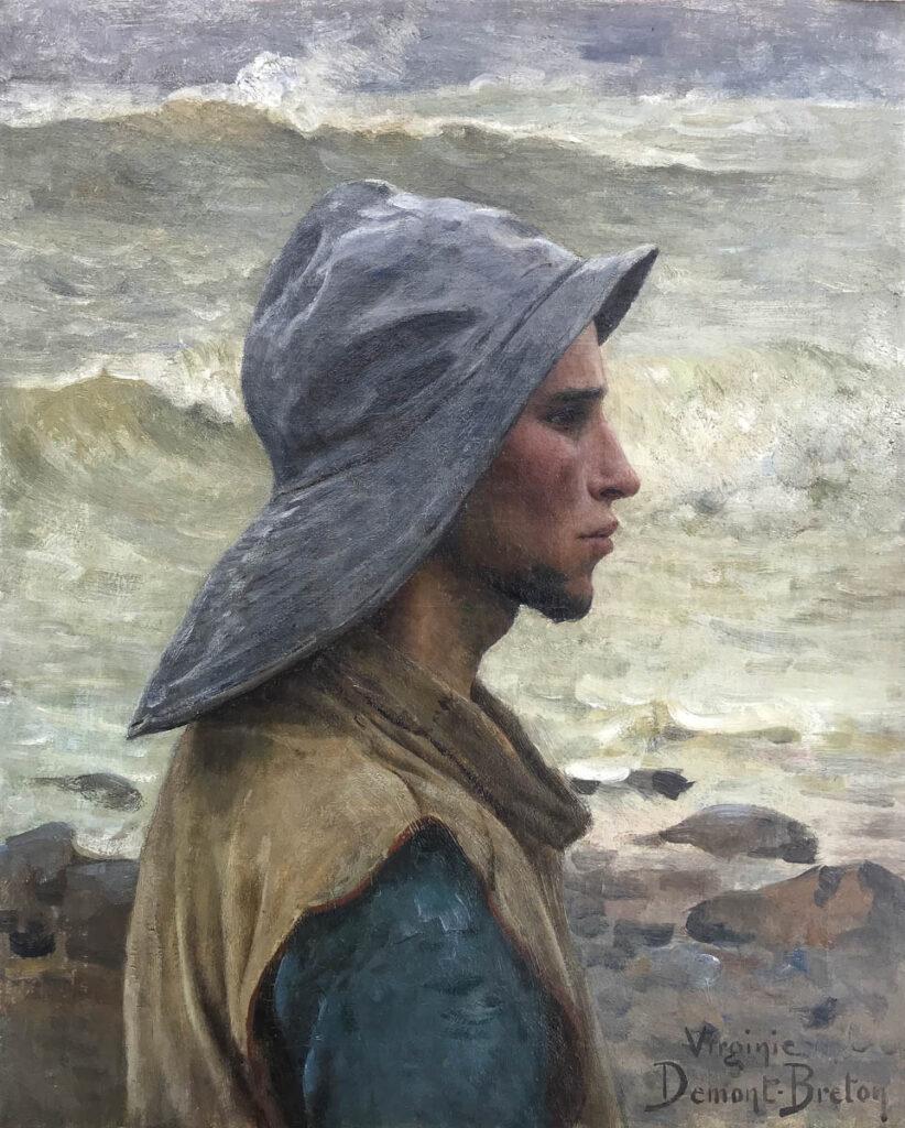 Demont Breton - Jeune Pêcheur